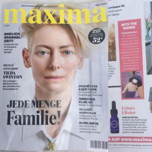 éternel huile précieuse in der Maxima (Ausgabe Mai 18)